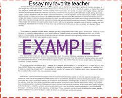 essay my favorite teacher research paper academic service essay my favorite teacher