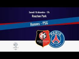 RENNES VS PSG 4040 LA FESSÉE YouTube Interesting Marseille Rennes Resume
