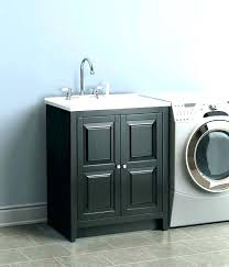 utility sink with cabinet laundry sinks accessories plumbing the home depot awesome countertop