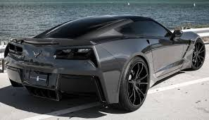 Exclusive Motoring Stealth Cyber Gray Chevrolet Corvette Stingray ...
