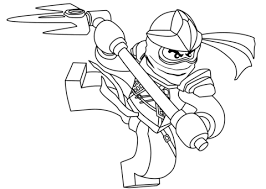 Small Picture Lego Ninjago Cole coloring page Free Printable Coloring Pages