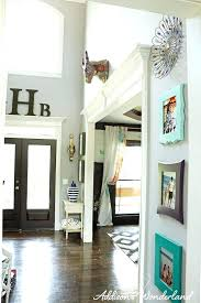 decorating tall walls ideas on gallery wall with handmade pallet clock decor thin large foyer arch mirror tall wall