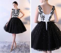 Simple Elegant Black And White Homecoming Dresses Elegant Homecoming Dresses Simple