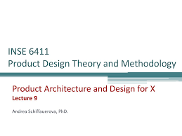 Design Theory Ppt Inse 6411 Product Design Theory And Methodology