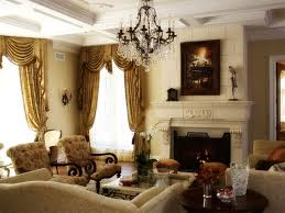 Traditional Sofa Sets Living Room Luxurious Rustic Brushed Bronze Chandelier Over Traditional Sofas