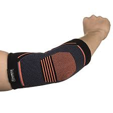 Kunto Fitness Elbow Brace Compression Support Sleeve For Tendonitis Tennis Elbow Golf Elbow Treatment Reduce Joint Pain During Any Activity