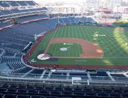 Nationals Baseball Seating Chart Nationals Park Section 418 Seat Views Seatgeek