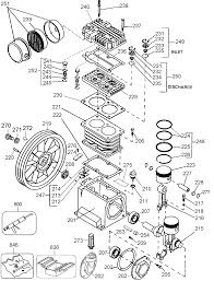buy dewalt d55570 type 2 1 5 hp 8 gallon electric wheeled portable dewalt d55570 type 2 parts schematic