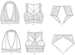 Lingerie Patterns Delectable Madalynne Intimates Lingerie Bralettes To Buy And Sew Pretty