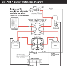 dual battery wiring diagram for boat radiantmoons me how to install a dual battery system in a vehicle at Dual Battery Wiring Diagram
