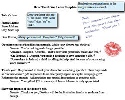 nonprofit thank you letter template