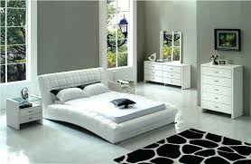 contemporary leather bedroom furniture. White Leather Bedroom Set Contemporary Furniture Sets O . T