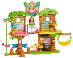 <b>Игровой набор Mattel</b> Enchantimals - Джунгли-кафе GFN59 ...
