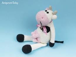 Crochet Cow Pattern Magnificent Design