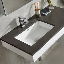 undermount bathroom sinks. architecture awesome undermount bathroom sink within 19 essence rectangular ceramic ronbow inspirations 2 cottage style furniture sinks i