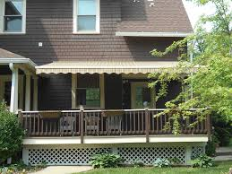 retractable over deck retractable awnings baltimore