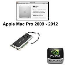 apple mac pro nvidia quadro 4000 2gb
