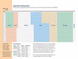 Tena Brief Sizing Chart Covidien Wings Quilted Diapers With Tabs Ultra