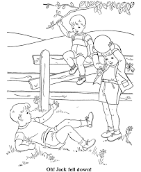 Small Picture BlueBonkers Boy Coloring Pages Boys playing with a ball Free