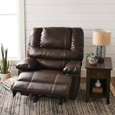 oversized leather recliner. Item 4 Oversized Recliner Large Mens Leather Wide Adult Single Best Chair With Storage -Oversized