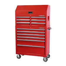 husky 36 in 12 drawer red tool chest