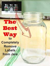 check out the best way to remove labels from glass jars get rid of that