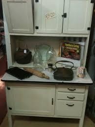 Enamel Top Cabinet Antique Hoosier Cabinet With Metal Flour Bin And Metal Bread