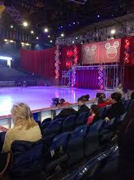 Disney On Ice Seating Chart Oracle Arena 60 Surprising Rosemont Arena Seating Chart