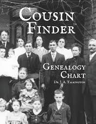 Blank Cousin Chart Amazon Com Cousin Finder Genealogy Chart 9781798147986