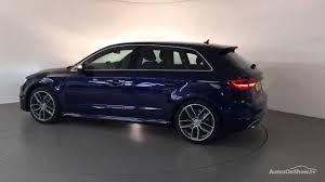 FL14XWA AUDI A3 S3 SPORTBACK QUATTRO BLUE 2014, Derby Audi - YouTube