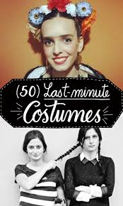 50 lastminute costumes pin