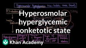 Dka Vs Hhns Chart Acute Complications Of Diabetes Hyperosmolar Hyperglycemic