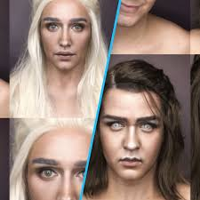 paolo ballesteros game of thrones inspired makeup transformation deserves its own emmy