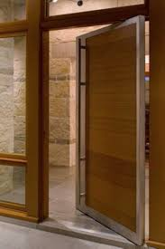 Modern Front Door Designs - Exterior pivot door