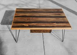 Black Walnut Coffee Table Striped Coffee Table Rh Timber