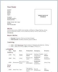 Beginner Cv Template Word Resume Samples Skills Transferable Example