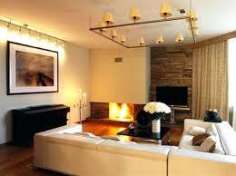 contemporary track lighting living room contemporary. Cool Lighting Ideas Pretty For Contemporary Living Room Track Basement E