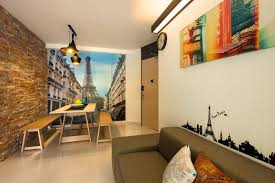Small Picture 10 design ideas for feature walls in HDB flat homes Home Decor
