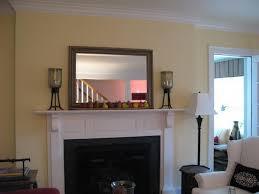 fireplace mantel mirror amazing