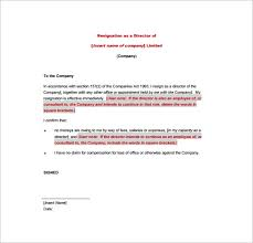 Resignation Letter Formats 10 Free Word Excel Pdf Format