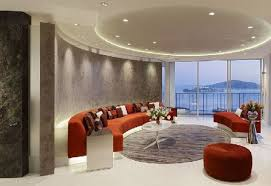 lighting design for living room. Stunning Round Ceiling Living Room Lighting Design Idea For H