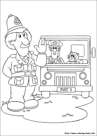 Small Picture Postman Pat coloring pages on Coloring Bookinfo