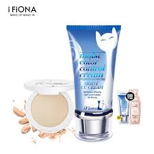 ifiona fiona aqua cc low mineral powder makeup kit bination