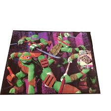 nickelodeon teenage mutant ninja turtles decorative rug kids floor mat 39 5 x 54 inch only