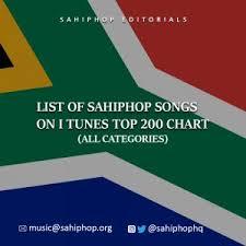 Itunes Top 200 Singles Chart Download Sa Hip Hop Songs On Itunes Top 200 Chart Sahiphop