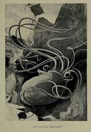 the very first illustrations of h g wells the war of the worlds  hg wells 3