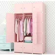 furniture for hanging clothes. DIY Closet Home Clothes Storage Hanging Wardrobe Waterproof Assembled Wardrobes Bedroom Furniture Cabinet For