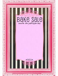 Bake Sale Flyer Templates Free Bake Sale Flyer Template Elegant Bake Sale Flyers Free