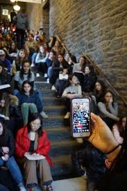 photo students at the ethical culture fieldston in the bronx new york