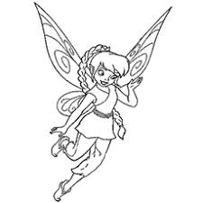 Small Picture Top 25 Free Printable Tinkerbell Coloring Pages Online